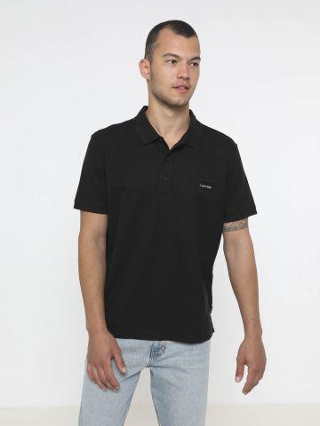 חולצת פולו עם לוגו