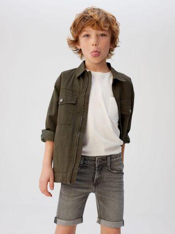 מכנסי ג'ינס ברמודה / בנים