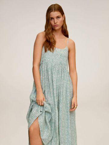 שמלה מתרחבת בהדפס פרחים של MANGO