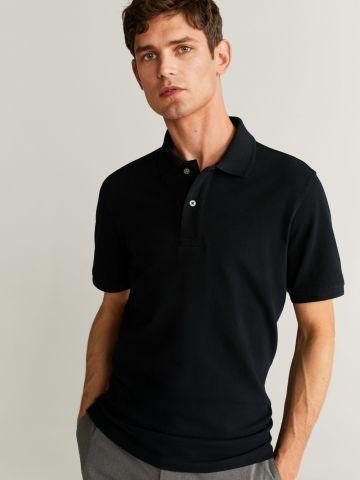 חולצת פולו עם כפתורים