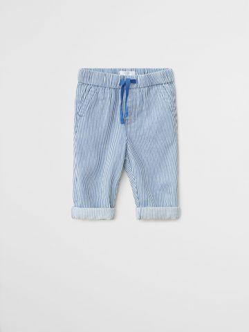 מכנסיים ארוכים בהדפס פסים / 9M-4Y