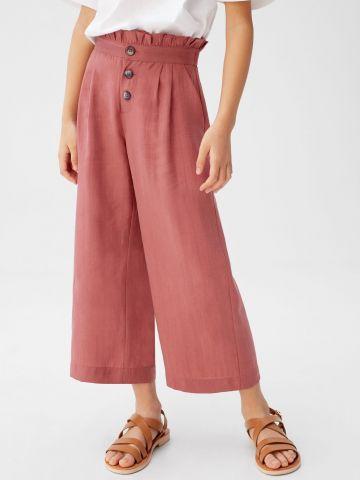 מכנסי פייפרבאג בגזרה רחבה / בנות של MANGO