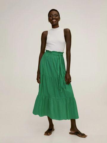 חצאית מידי קומות של MANGO