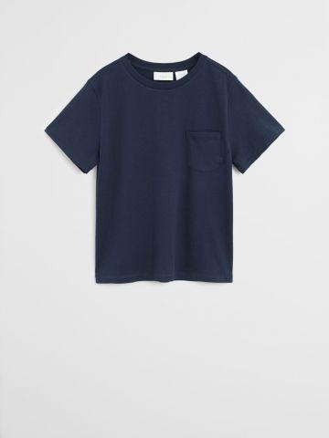 חולצת טי שירט בייסיק / בנים
