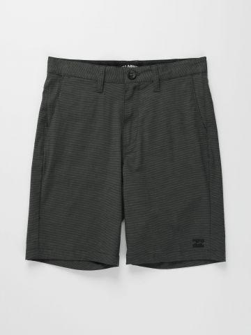 מכנסי ברמודה ווקשורט Crossfire X Slub / בנים