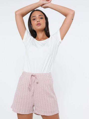 מכנסיים קצרים סרוגים