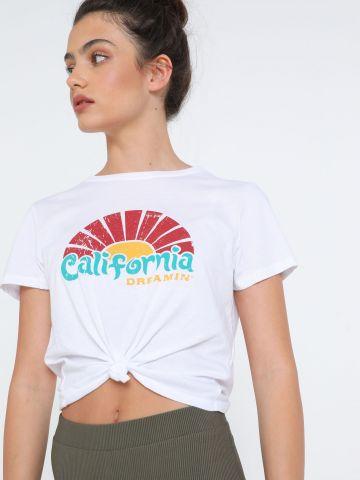 טי שירט קרופ California