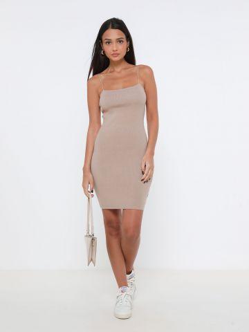 שמלת מיני סרוגה
