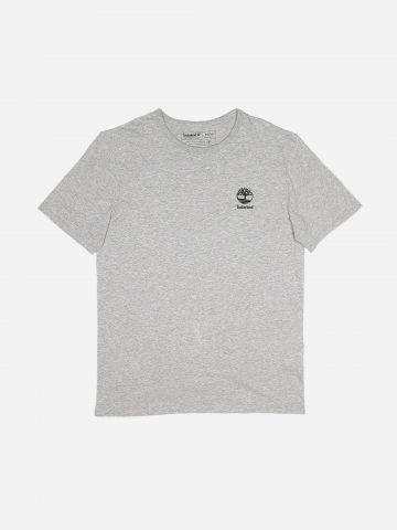 טי שירט עם הדפס לוגו / גברים