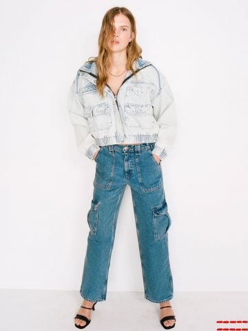 ג'ינס סקייטר עם כיסים BDG של URBAN OUTFITTERS