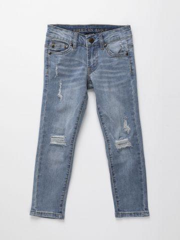 ג'ינס סקיני עם עיטורי קרעים / בנים של AMERICAN EAGLE
