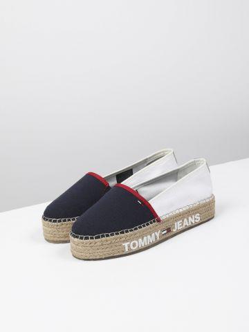 נעלי מוקסין אספדריל עם לוגו / נשים