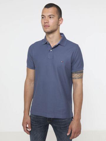 חולצת פולו עם לוגו Slim