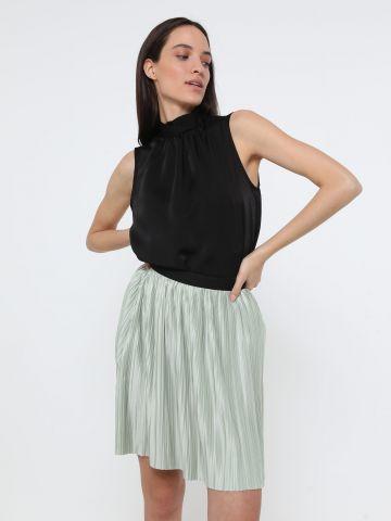 חצאית מיני פליסה