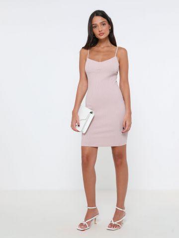 שמלת ריב מיני עם קאפ