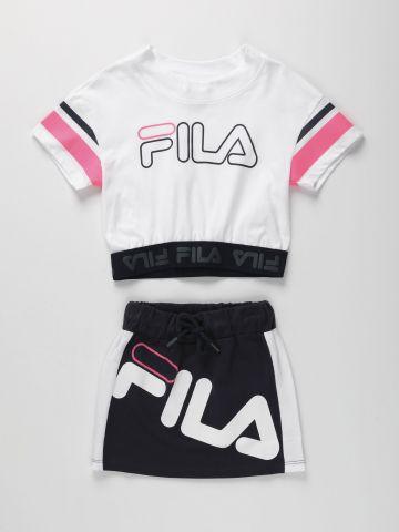 חליפה 2 חלקים עם לוגו / בנות