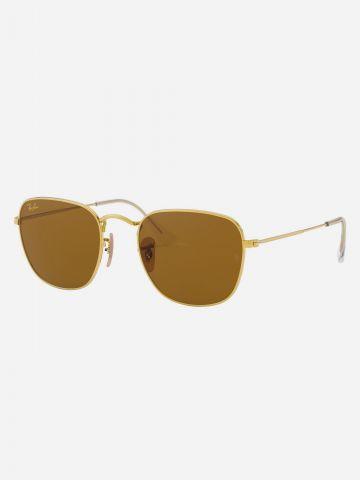 משקפי שמש מלבניים עם שוליים מעוגלים Frank Legend