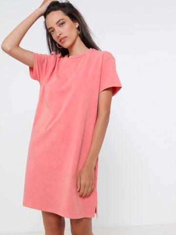 שמלת טי שירט מיני ווש