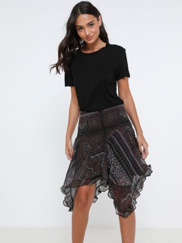 חצאית מיני אסימטרית של TERMINAL X