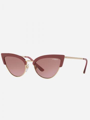 משקפי שמש עיני חתול של vogue eyewear