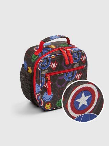 תיק אוכל בהדפס Avengers / בנים של GAP