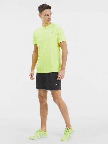 מכנסי ריצה קצרים עם טייץ פנימי