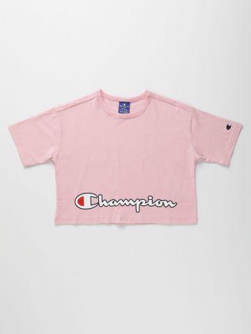 טי שירט אוברסייז עם הדפס לוגו / בנות של CHAMPION