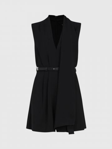 אוברול קצר עם חגורה ורצועת עניבה / נשים של ALL SAINTS