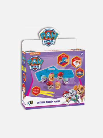 Nickelodeon Paw Patrol סדנא להכנת מחקים / 6+