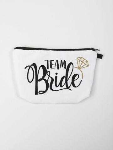 תיק איפור Team Bride