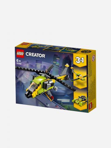 Lego Creator Helicopter Adventure  סדרה 3 ב-1 / 6+