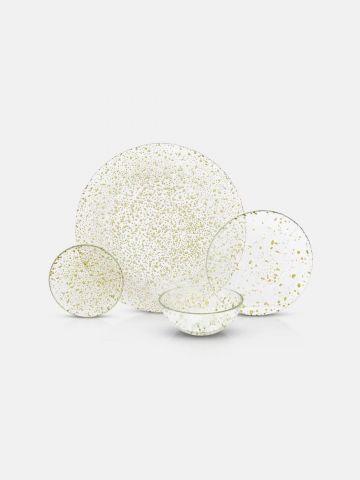 סדרת צלחות Gold Drops / קערית מרק