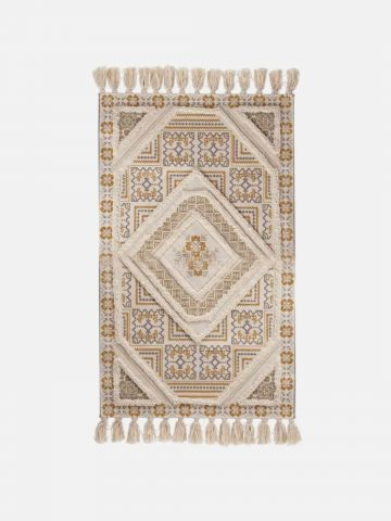 שטיח עם פרנזים GLAMOUR 70X120