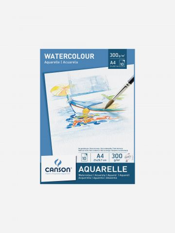 בלוק קנסון לצבעי מים A4 בריסטול / 10 דפים