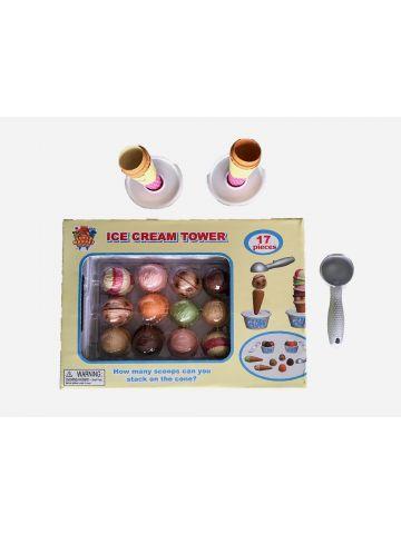 משחק מגדל גלידה / +3 של TOYS