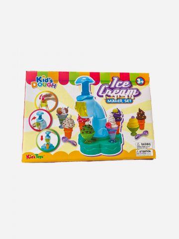 משחק מכונת גלידה עם בצק /+3
