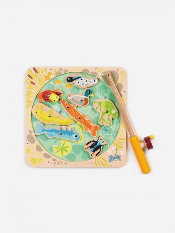 אגם דייג מגנטי מעץ Tender Leaf Toys / 3+ של TOYS