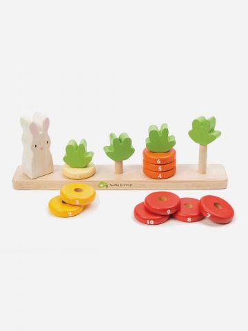 משחק ספירת טבעות ארנב וגזרים Tender Leaf Toys / +1.5