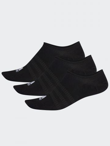 מארז 3 זוגות גרביים נמוכים עם לוגו/ גברים