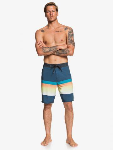 מכנסי בגד ים קולור בלוק אומברה