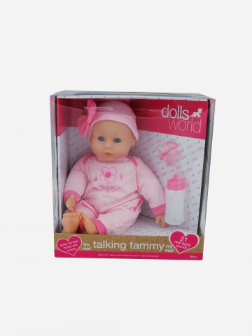 בובת תינוקת ״תמי״ מדברת / 18M+