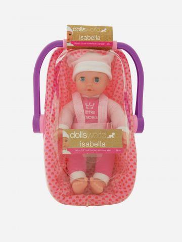 בובת תינוקת איזבלה בסל קל / 24M+