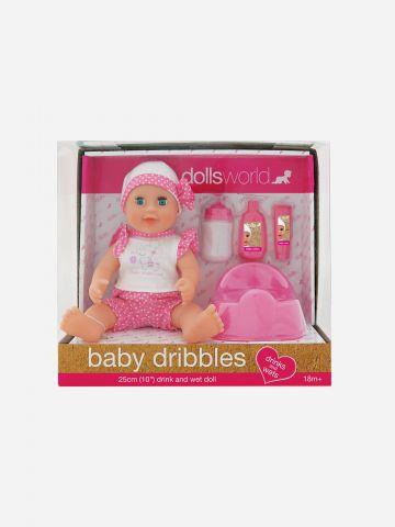 בובת תינוקת עם סיר / 18M+