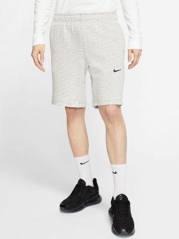 מכנסי טרנינג קצרים עם לוגו Tech Pack