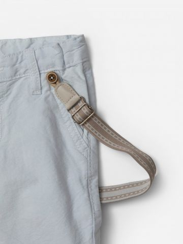 מכנסיים ארוכים עם שלייקס / 0-3Y של SHILAV