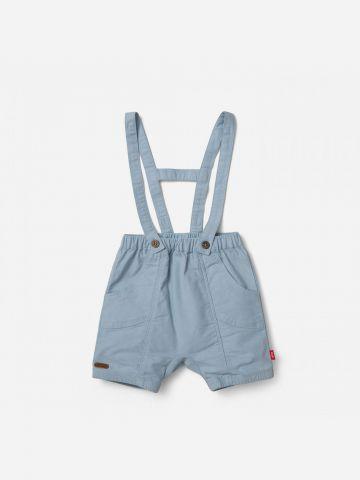 מכנסיים קצרים עם שלייקס / 0-24M