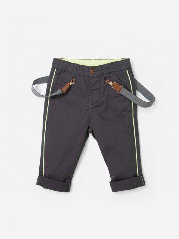 מכנסיים ארוכים עם שלייקס /  N.B-3Y
