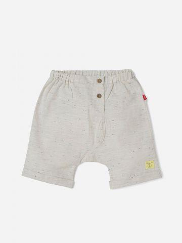 מכנסיים קצרים עם כפתורים / 0-3Y