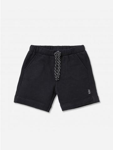 מכנסי טרנינג קצרים עם שרוך / 0-24M