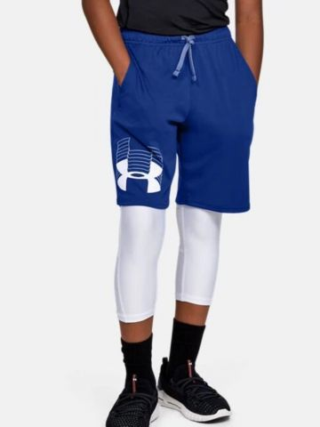 מכנסיים קצרים עם לוגו / בנים